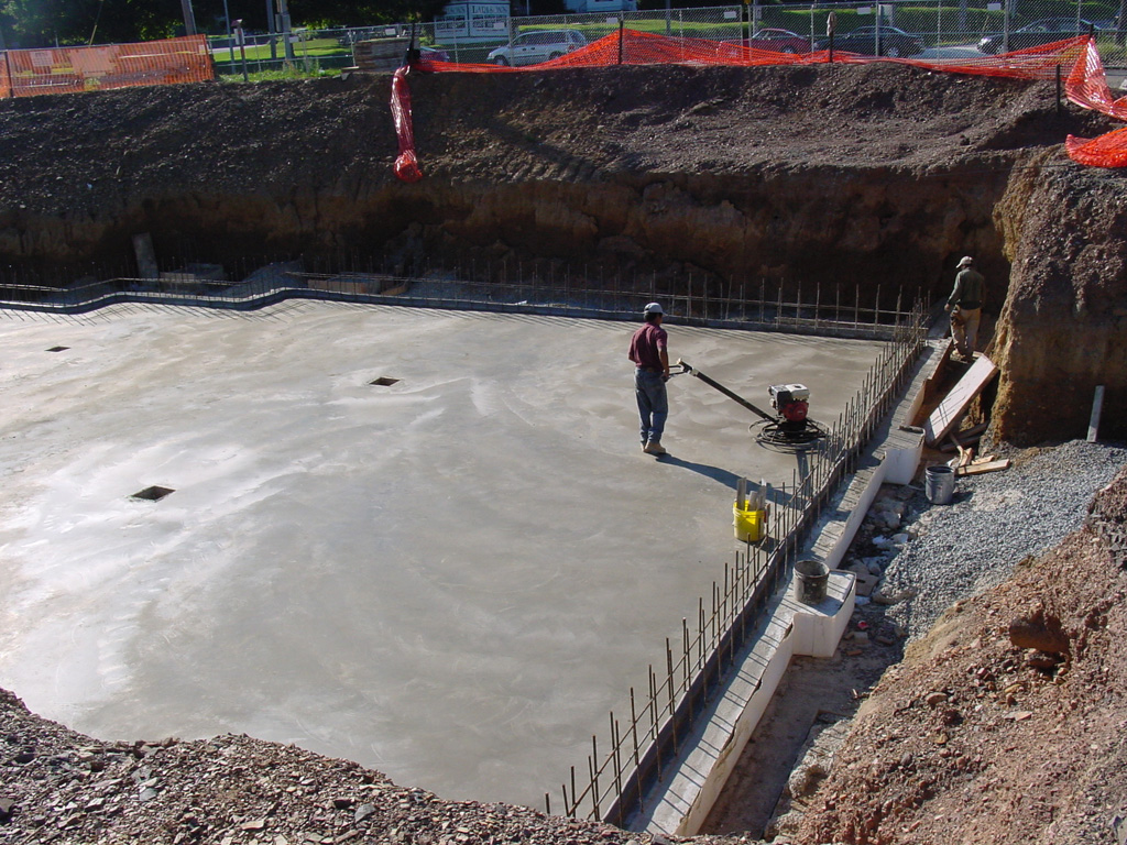 Riva concrete poured concrete foundations and slabs for Poured foundations